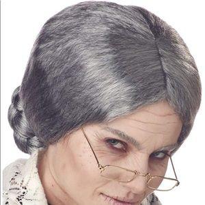 Grandma Wig for Halloween Costume